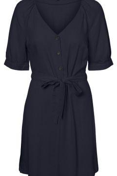 VERO MODA 2/4-ärmel Kleid Damen Blau(111139958)