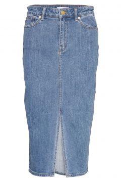 Kassandra Skirt Knielanges Kleid Blau STYLEIN(116997390)