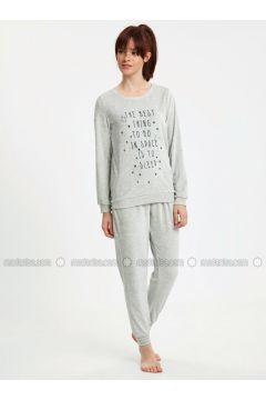 Gray - Pyjama - LC WAIKIKI(110335767)
