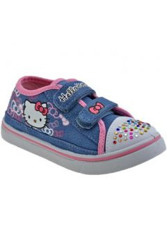 Chaussures enfant Hello Kitty Strass Girl Baskets basses(115496927)