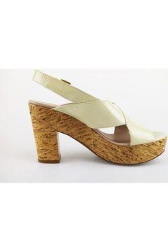 Sandales Janet Janet sandales beige cuir verni AG408(115393466)