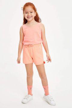 DeFacto Kız Çocuk Bağcık Detaylı Şort(119059259)