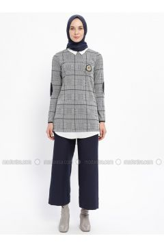 Navy Blue - Pants - Zinet(110332368)