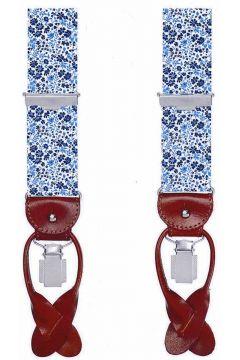 Profuomo bretels bloemenprint blauw PPRL100001/P(110995263)