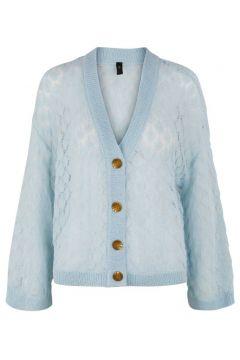 Y.A.S Yasecco Cardigan En Maille Women blue(115689759)