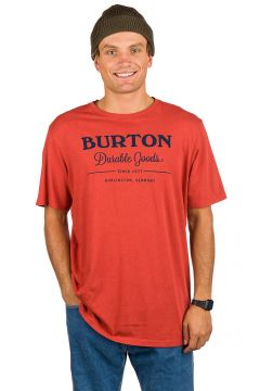 Burton Durable Goods T-Shirt rood(98383128)