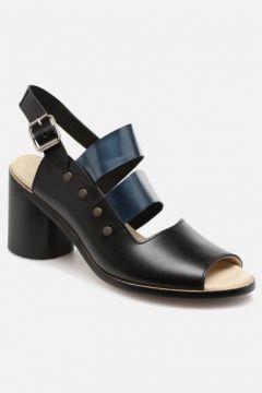 SALE -40 Deux Souliers - Asymmetrical Sandal #1 - SALE Sandalen für Damen / schwarz(111575116)