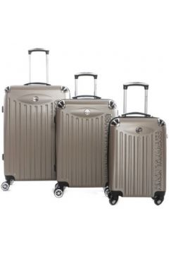 Valise Geographical Norway Set de 3 bagages en ABS SOFTLESS(115499013)