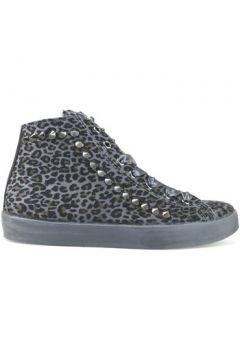 Chaussures Beverly Hills Polo Club POLO sneakers gris daim clous AJ07(115399674)