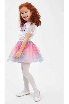 DeFacto Kız Çocuk Varak Baskılı Tütü Etek(119060108)
