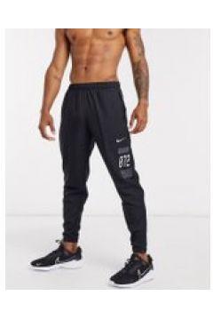 Nike Running - Wild Run - Joggers con logo e stampe neri-Nero(120245695)