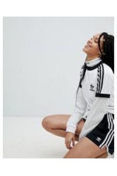 adidas Originals - adicolor - Schwarze Shorts mit drei Streifen - Schwarz(90529381)