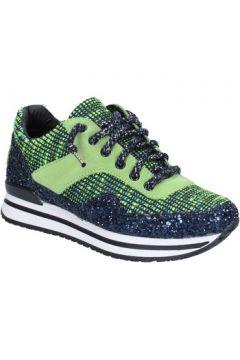 Chaussures 2 Star Gold GOLD sneakers vert textile bleu glitter BX34(98483785)