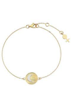 Her Story Kadın Huzur Gold Madalyon Detaylı Altın Rengi Bilezik Sarı EU(118059037)