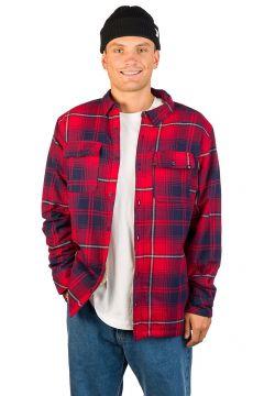 Dravus Sherpa Flannel Shirt rood(96637283)