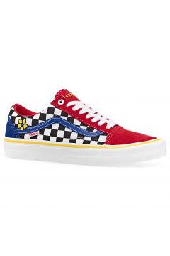 Vans Old Skool Pro Schuhe - Brighton Zeuner Red Checker Blue(117008395)
