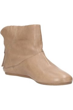 Boots Carmens Padova bottines beige cuir AF46(127915892)