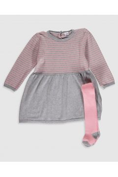 Bebek Kız Bebek Elbise ve Külotlu Çorap(119446030)