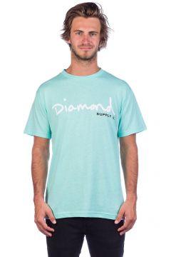 Diamond OG Script T-Shirt diamond blue(97766759)