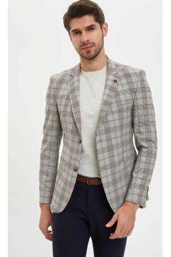 DeFacto Erkek Ekose Slim Fit Blazer Ceket(108988217)
