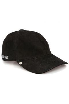 Bassigue Kadın Stay Safe Nakışlı Süet Şapka Siyah EU(118488406)
