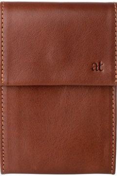 Portefeuille Antica Toscana Porte cartes de crédit en cuir Tuscany - Jacopo - Terre cuite(115445861)