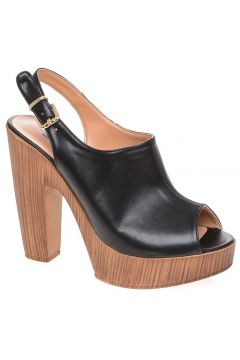 Punto Siyah Topuklu Ayakkabı(126440954)