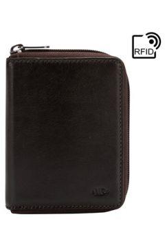 Portefeuille Nuvola Pelle Portefeuilles en cuir Nappa - RFID Cory - Marron foncé(115501298)