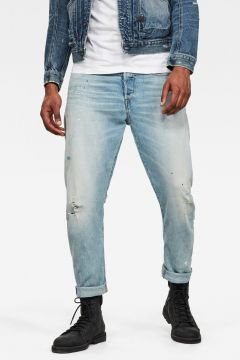G-Star RAW Men Type C 3D Straight Tapered 2.0 Jeans Light blue(118180103)