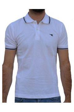 T-shirt Diadora MC PIQUET BIANCA(115478409)