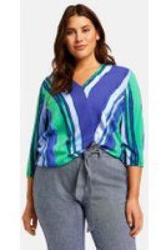 Bluzka w kopertowym stylu Multicolor 42/M(115895326)