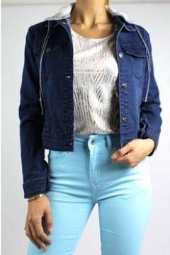Veste Kebello Blouson en jeans F Bleu(127893110)