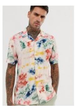 Pull&Bear - Camicia tie-dye bianca-Bianco(112450562)
