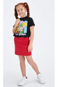 DeFacto Kız Çocuk Basic Kısa Etek(119057152)