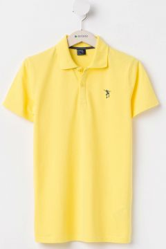 DeFacto Erkek Çocuk Armalı Polo T-shirt(108985917)