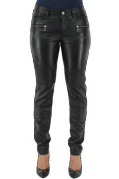 Collants Oakwood Pantalon Katarina en cuir ref_cco37459-noir(115555598)