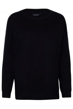 Lizzie Cotton/Cashmere Sweater Strickpullover Schwarz LEXINGTON CLOTHING(120403626)