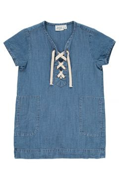 Kleid aus Baumwolle und Leinen Ringo(113872350)