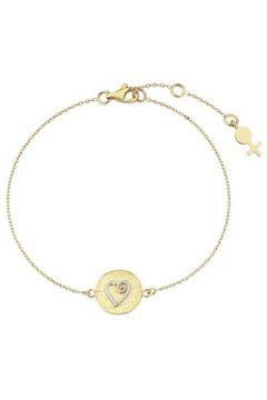 Her Story Kadın Aşk Gold Madalyon Detaylı Altın Rengi Bilezik Sarı EU(118059039)