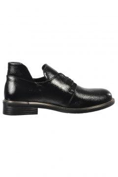 Ermod 105 Siyah Rugan Kadın Ayakkabısı(108938482)