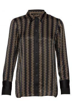Lara Pearl Shirt Langärmliges Hemd Schwarz MOS MOSH(116333819)