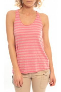 Debardeur So Charlotte Oversize tank Top Stripe T36-371-00 Rose(98751001)