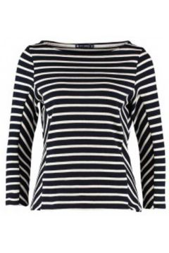 T-shirt Petit Bateau Marinière M7/8 1130549210 Bleu(115471349)