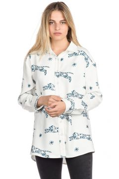 Plenty Abigail Button Down Shirt LS wit(85175826)