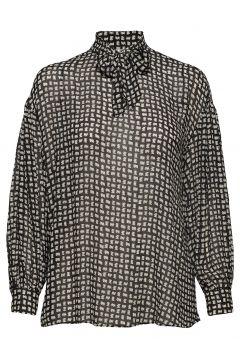 Adelaide Shirt Bluse Langärmlig Schwarz NUÉ NOTES(114151826)