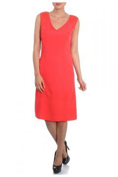 Cotton Bar V Yaka Kolsuz Elbise(114209415)