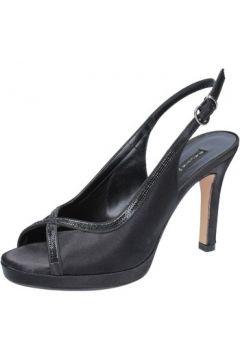 Sandales Bacta De Toi sandales noir satin BY91(115400882)