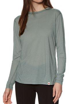 Top Seconde Peau Femme Fjallraven High Coast Lite Long Sleeve - Shark Grey(111330134)