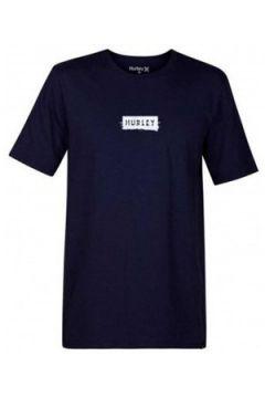T-shirt Hurley Camiseta M Core Ripples Tee(115499585)