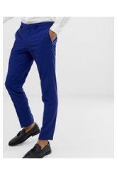 Burton Menswear - Enge Hochzeits-Anzughose in Blau - Blau(94961739)